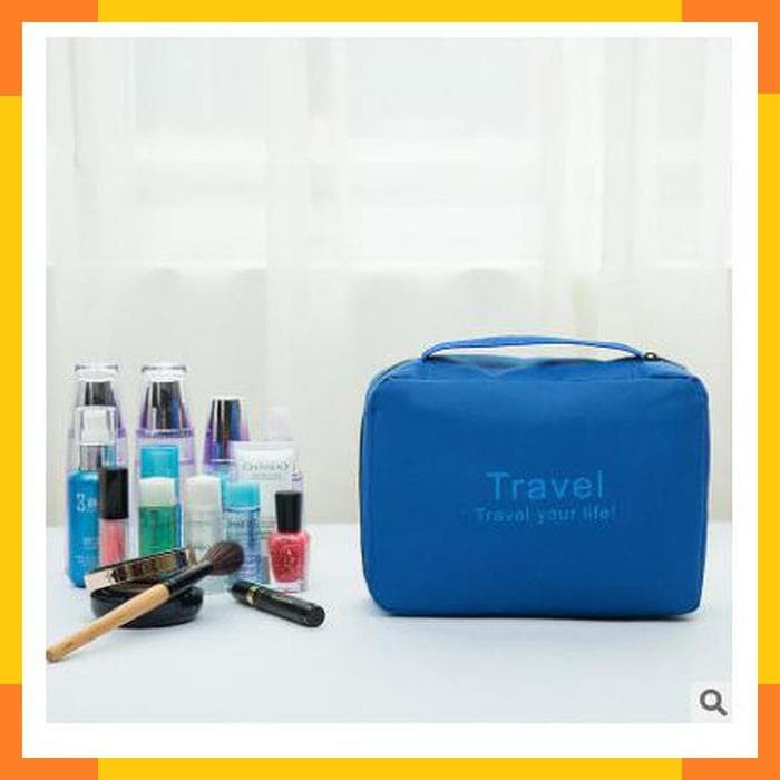 Travel Mate / Toilet Organizer Bag / Travel Bag / Tas Kosmetik Mandi -