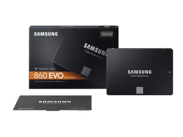 """Foto Produk SSD Samsung 860 EVO 500GB / 860 EVO 500GB 2.5"""" dari t_pedia pc"""