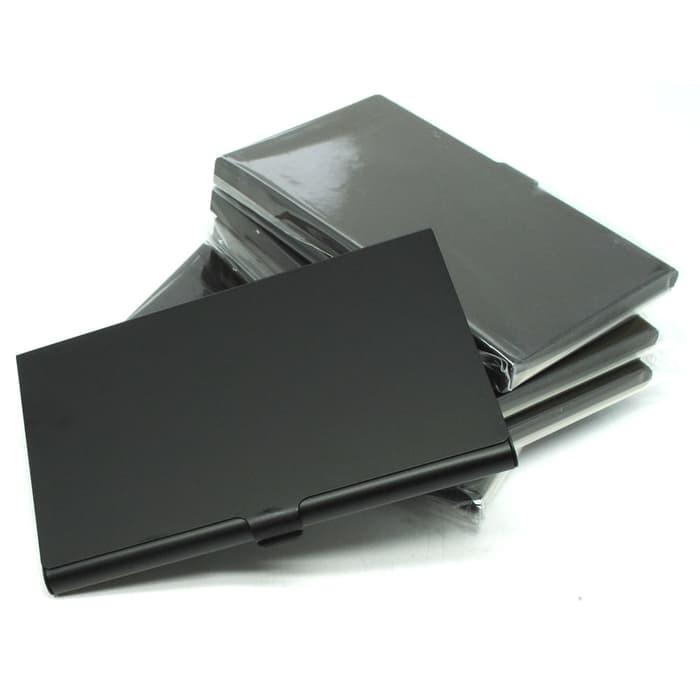 Jual promo Kotak Kartu Nama Aluminium - Black olx - Kota Semarang -  sepatugrosir12 | Tokopedia