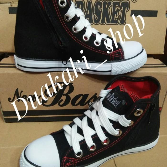 Jual Sepatu Sekolah New Basket Sd Smp Resleting Sepatu Nb Warior 14431b41b1