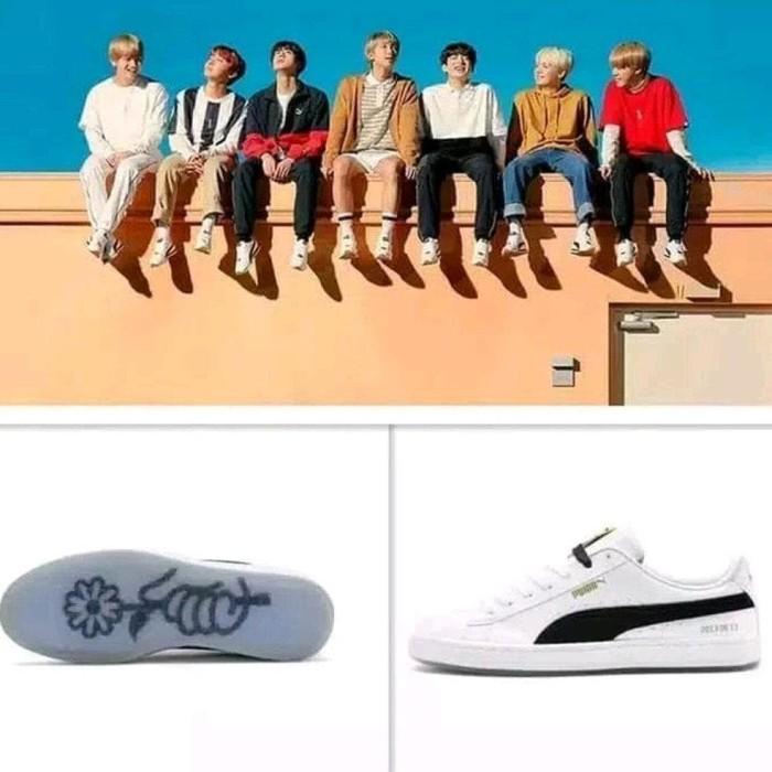 online store a375a 6dc5f Jual Termurah Sneakers Puma X Bts Basket Court Versi Bts Original - Yahya  Rifandaru | Tokopedia
