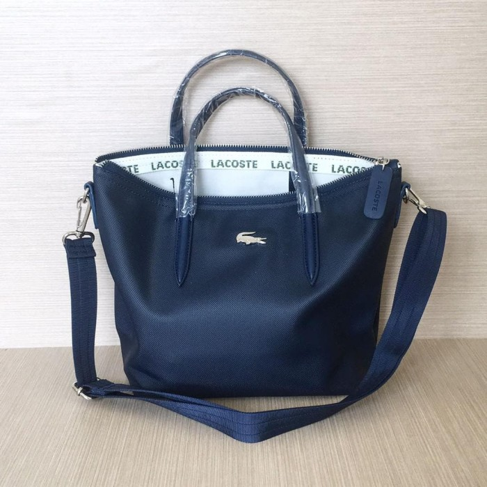 Jual Promo Tas Wanita Lacoste Zip Tote Bag Basic Mini Best Seller ... 9a44f957bf