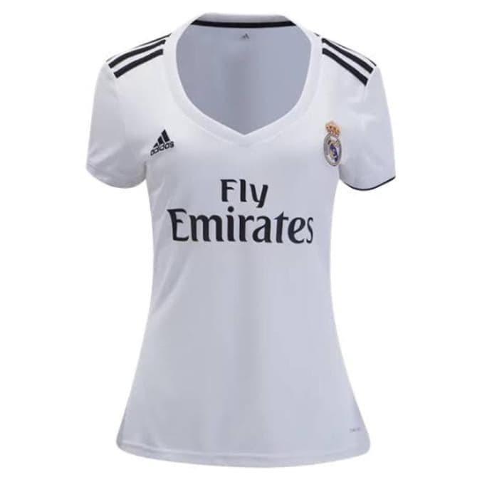 competitive price 75d67 ad092 Jual New Jersey Bola Ladies Real Madrid Home 2018/2019 - Baju Bola - Kaos -  Jakarta Barat - Cudabara Jaya | Tokopedia