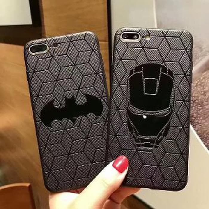 Case DC Marvel Vivo Y53 Softcase Superhero Black