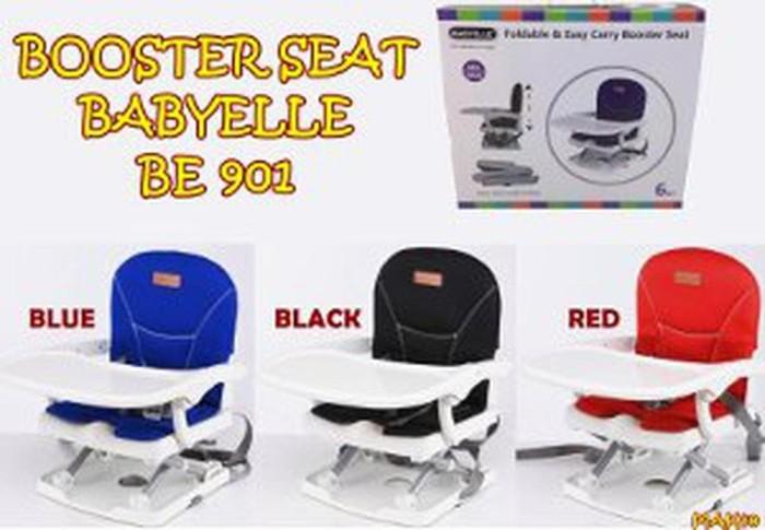 MAK40 BOOSTER SEAT BABYELLE BE 901 KURSI MAKAN ANAK Termurah