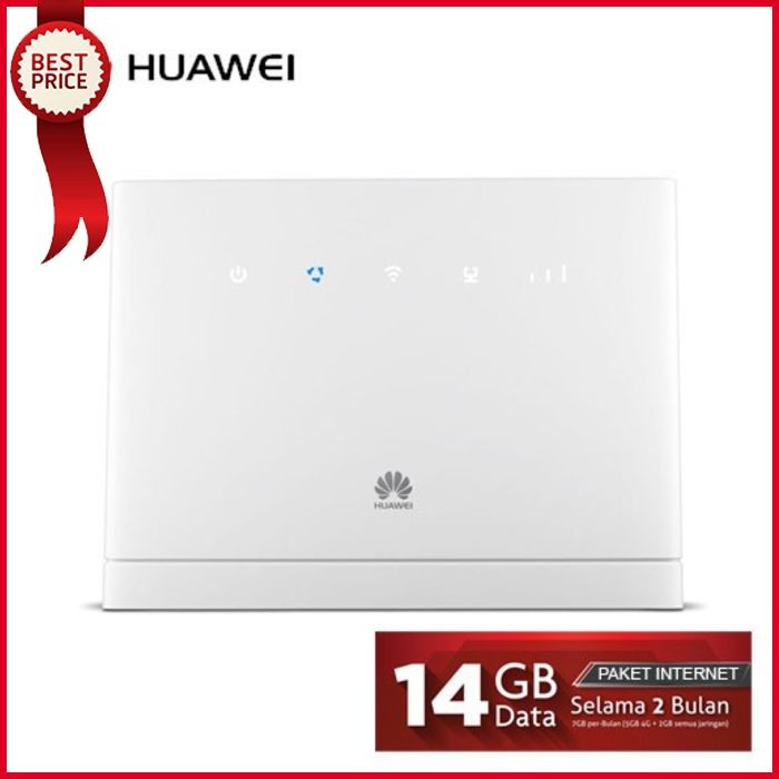 Jual Huawei Home Router B315 B315S 4G LTE Paket Internet 14GB 2Bulan -  sumberjayamakmur | Tokopedia