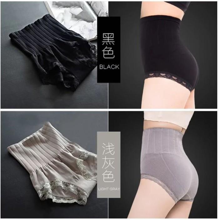 Munafie Slimming Pants Original Celana Pelangsing Slim WARNA HITAM