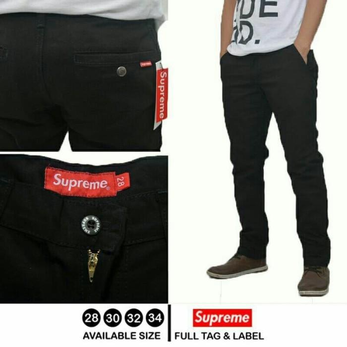 Foto Produk Celana Panjang Supreme Premium - Hitam, 28 dari JarshOfficial