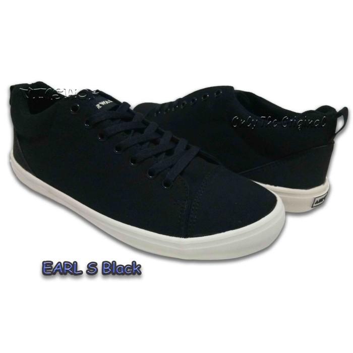0e9ad6633c648f Jual AJ03 Sepatu AIRWALK EARL S BLACK Mens ORIGINAL AIWX80302BK ...