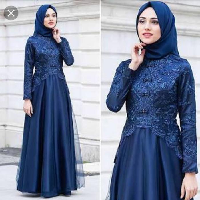 Jual Kebaya Modern Warna Biru Tua Kota Yogyakarta Vava Shop2 Tokopedia