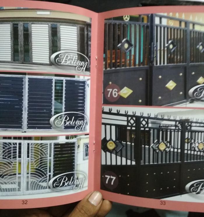 Buku Arsitektur Desain buku katalog album majalah produk pagar besi