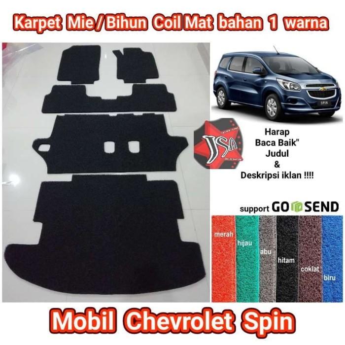 Jual Karpet Miebihun Coilmat Mobil Chevrolet Spin 1 Warna Full