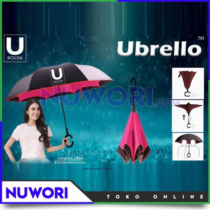 harga Payung terbalik ubrello bolde inverter umbrella - tanpa motif / corak Tokopedia.com