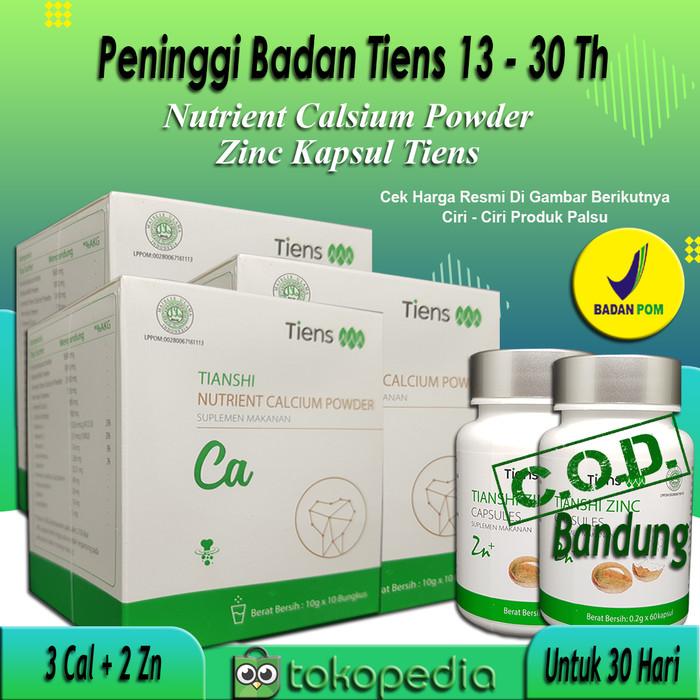 Promo Paket Peninggi Badan Tiens 30 Hr ( 3 NHCP + 2 zinc) - 1 cal dan 1 zn