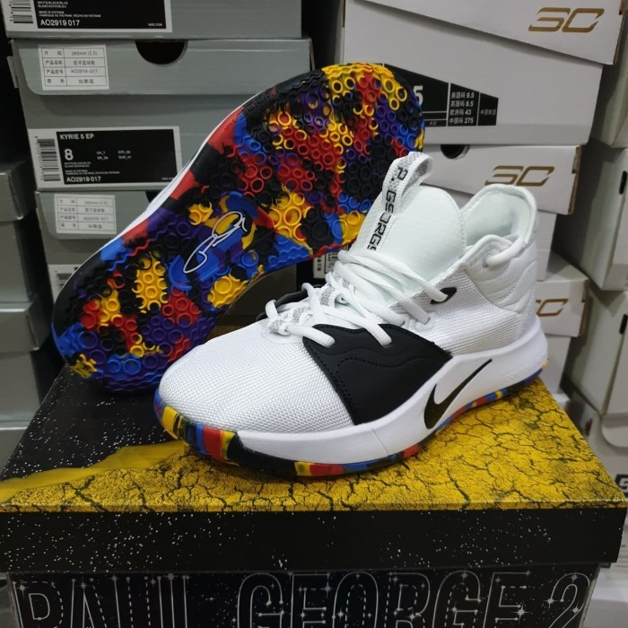 06f273ed3c9  FREE SHOES BAG  Sepatu Basket Paul George 3 (PG3) March Madness - March  Madness