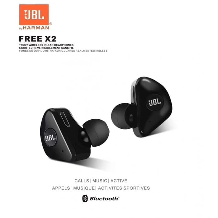 e6f0042e07a Jual Headset bluetooth JBL X2 Wireless earphone bluetooth Isi 2 kiri ...