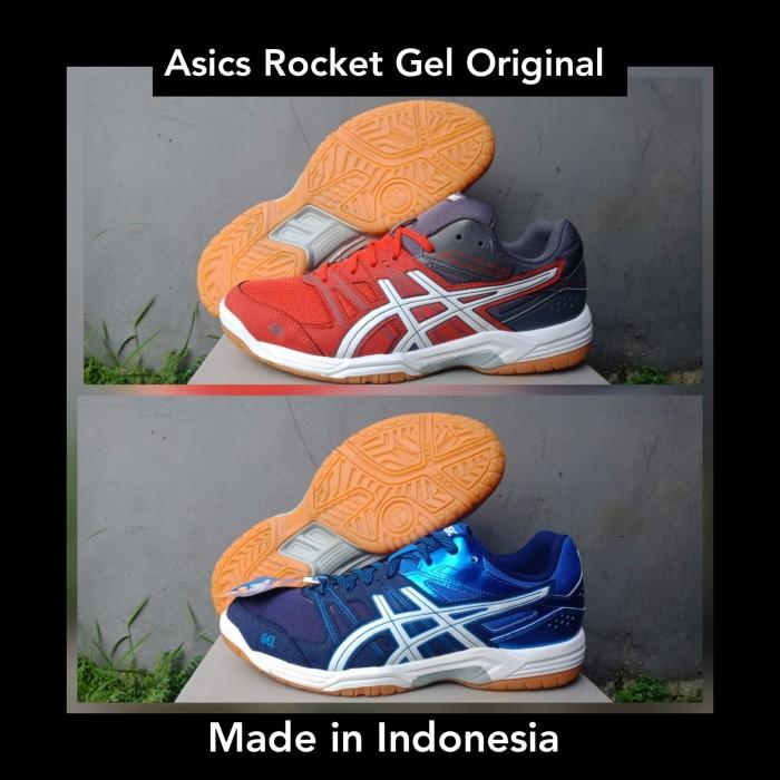 harga Sepatu asics rocket gel original sepatu badminton olahraga lari voli Tokopedia.com