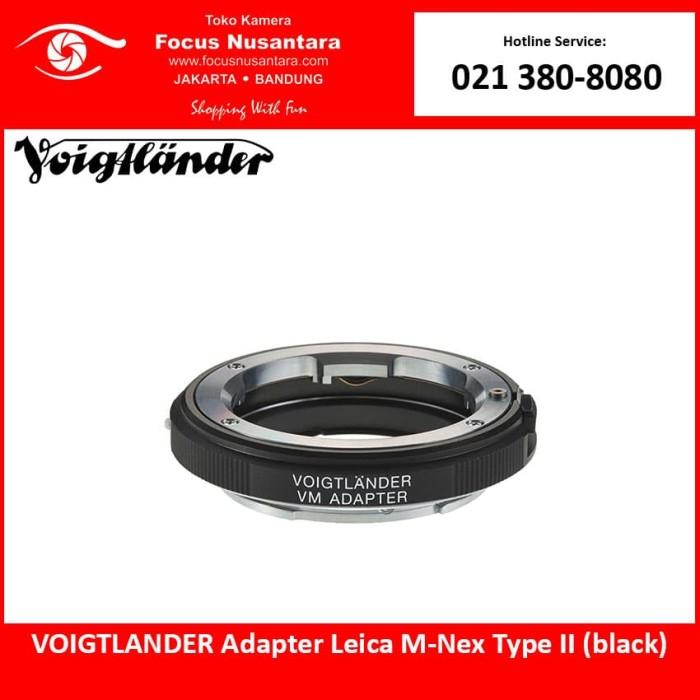 harga Voigtlander adapter leica m-nex type ii (black) Tokopedia.com