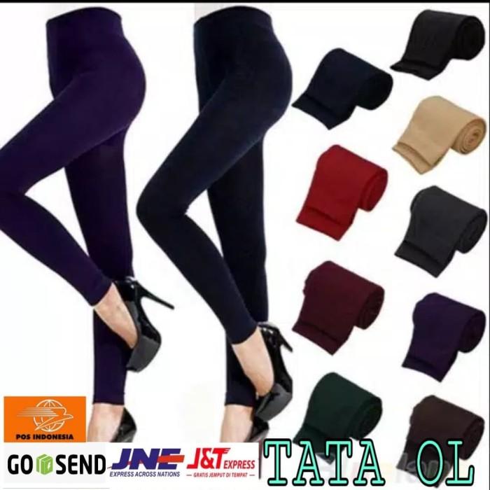 Jual Legging Importir Bahan Spandek Korea Legging Panjang Legging Yoga Merah Jakarta Pusat Tata Ol Tokopedia