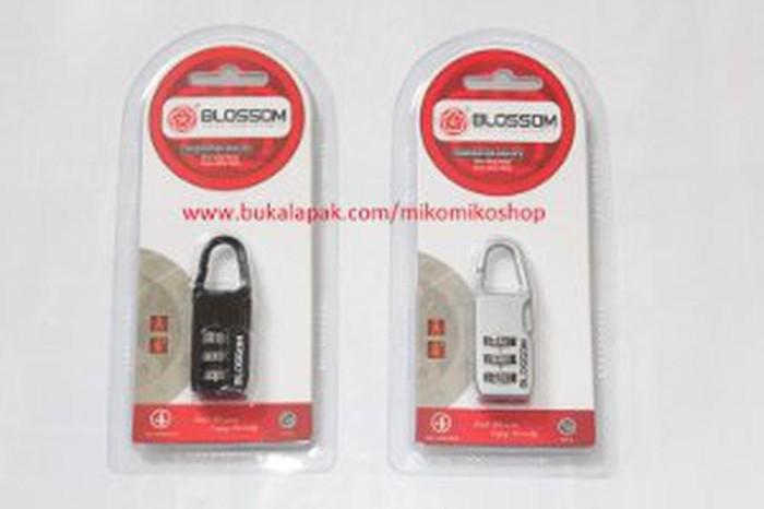 Kunci Gembok Nomor Merek Blossom 20mm Limited