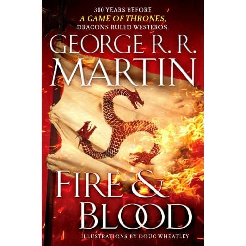 harga Fire & blood: 300 years before a game of thrones Tokopedia.com
