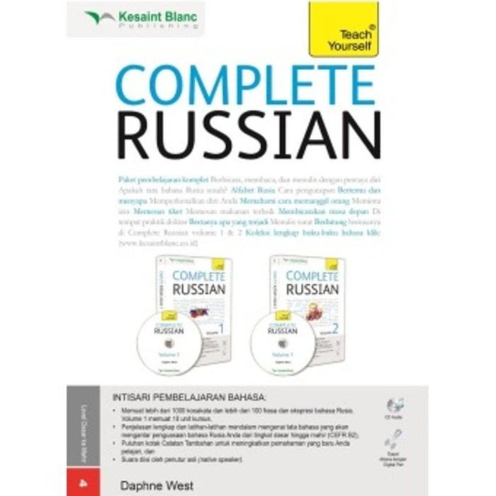 Best BARU Buku Paket Complete Russian . Kesaint Blanc