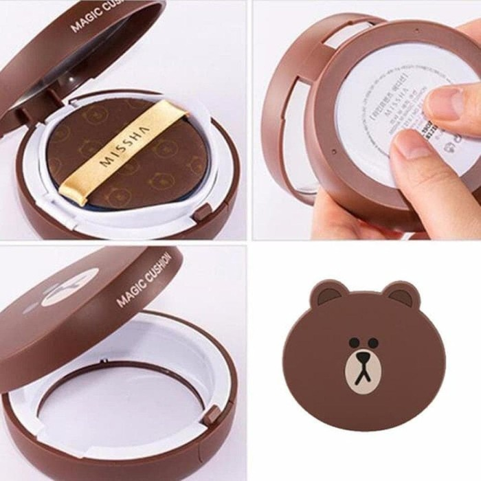Best Missha Line Friends Magic Cushion Moisture Package Spf50