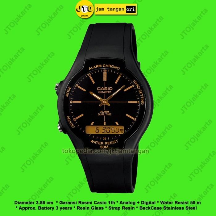 Jual Jam Tangan Casio Original Pria Wanita AW 90H 9E AW90H Garansi ... e7027a6df8