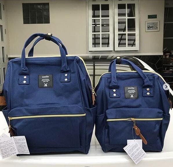 Foto Produk (SUPER) Backpack Anello Canvas - Abu-abu dari Shopping at VS