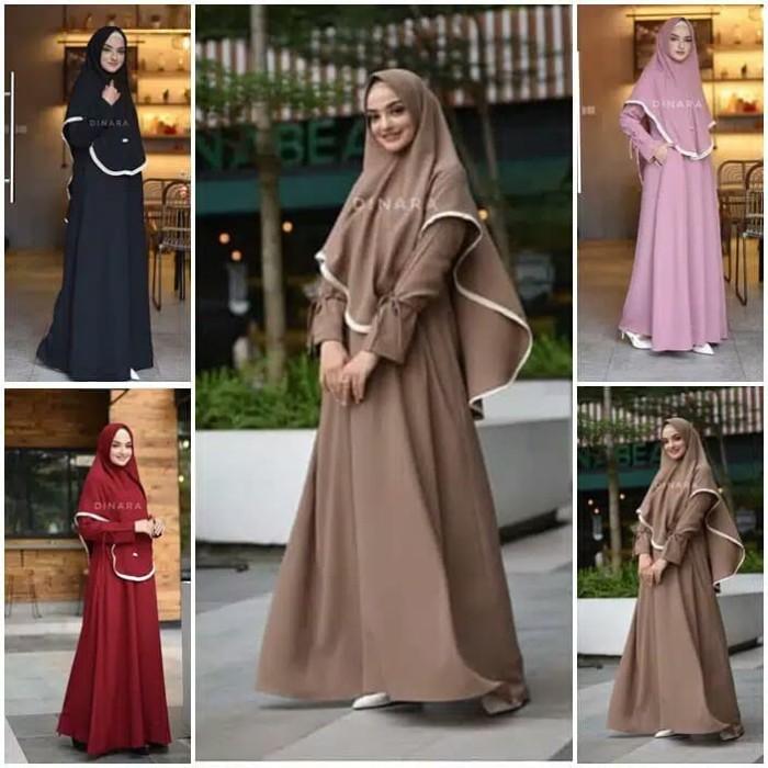 Foto Produk Salma set Gamis Hijab dari Blossom Angel
