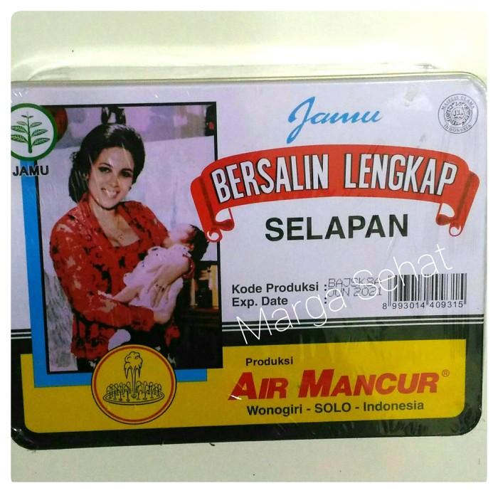 Foto Produk JAMU BERSALIN LENGKAP/ PAKET JAMU SELAPAN AIR MANCUR/ IBU MELAHIRKAN dari Marga Sehat