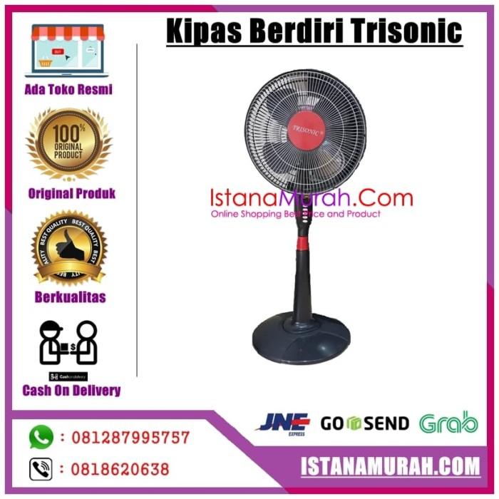 KIPAS TRISONIC 1601 Stand Fan 16 inch - Kipas Angin Berdiri