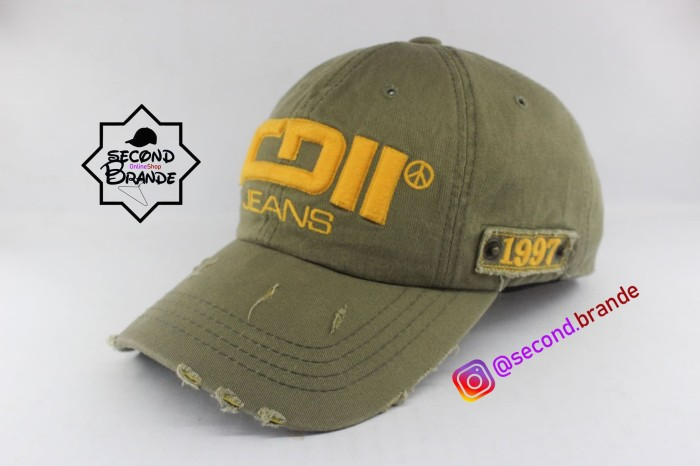 Jual Topi Second Import - IGII Jeans - Second.brand  3a4579be7f