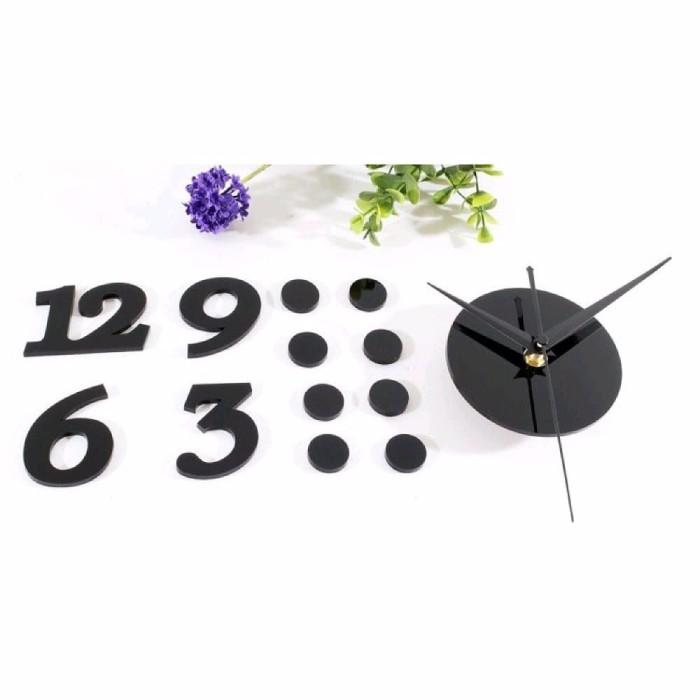 Jual Jam Dinding Besar Unik Minimalis Acrylic Ukuran 30 50cm ... 3188b54fa0