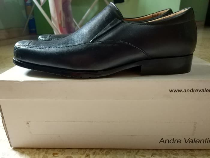 4525772d81c8d Jual Sepatu Pantofel Pria Premium Andre Valentino Size 42 BNIB ...