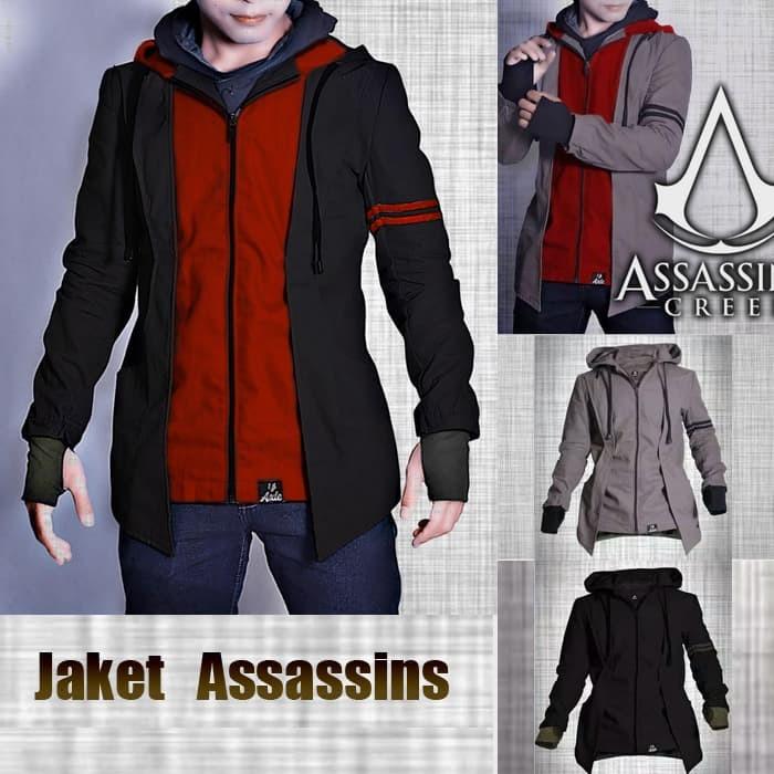 Jual Jaket Assassins Assasins Creed Axl Blazer Semi Hoodie Arno