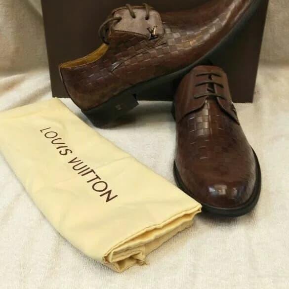 Jual Sepatu branded pantofel louis vuitton - danishob  d114340289