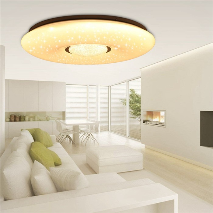 Jual 54w Led Dimmable Lamp Ceiling Down Light Fixture Surface Living Room Kab Bandung Trend Laris Tokopedia