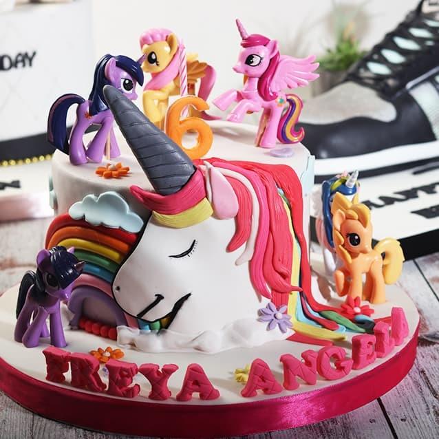 Jual Kue Ulang Tahun Unicorn Mainan Little Pony Mohon Baca Keterangan Jakarta Barat Stelete Cake Tokopedia