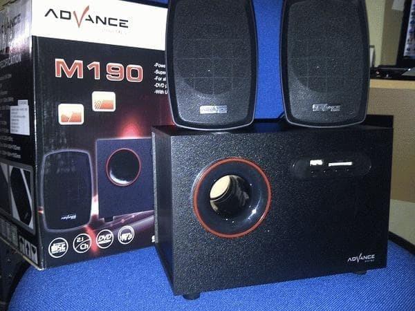 Foto Produk Speaker Multimedia 2.1 Advance M190 dari Okegadgets