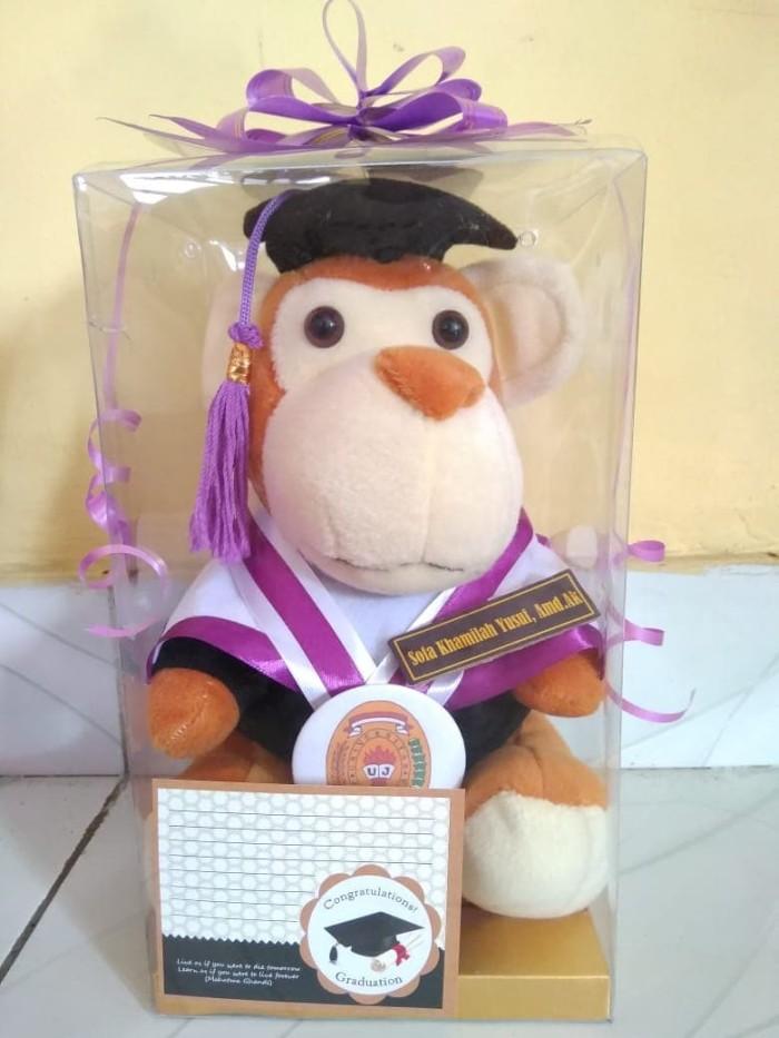 harga Boneka wisuda monkey boneka wisuda monyet 25cm Tokopedia.com