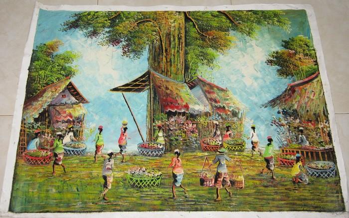 harga Lukisan pasar tradisional: pembawa keberuntungan dalam usaha Tokopedia.com