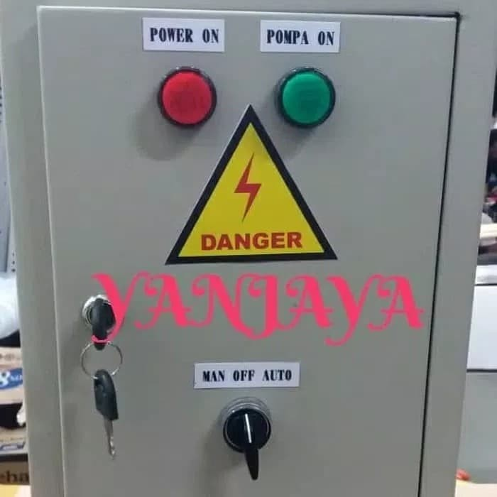 Jual panel pompa air sumur kering otomatis pompa mati ...
