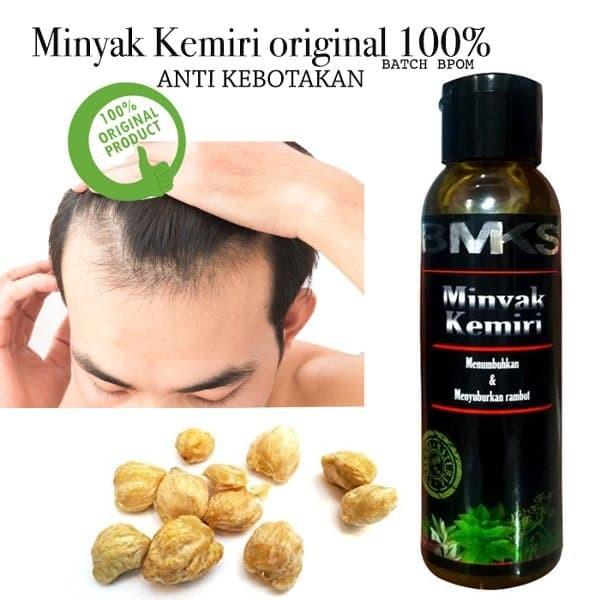 BUY 1 GET 1 Minyak Kemiri Penumbuh Rambut Original BPOM Resmi Black Ma