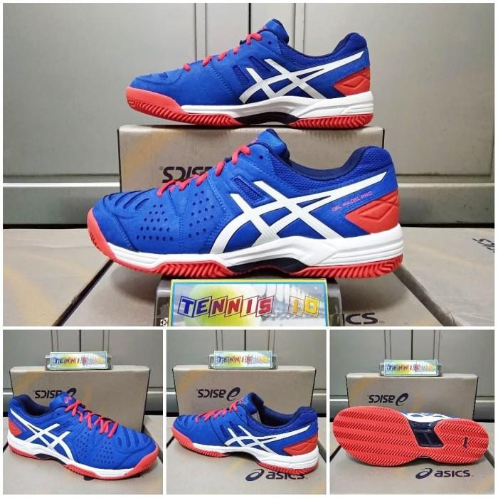 Harga Terbaru Sepatu Tenis Asics Gel Padel Pro - Blue Di Kab ... d6687e3a21