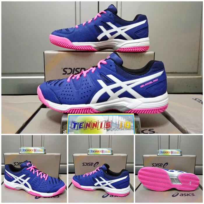 Info Harga Sepatu Tenis Asics Gel Padel Pro - Blue Pink Di Kab ... bbc98c9780