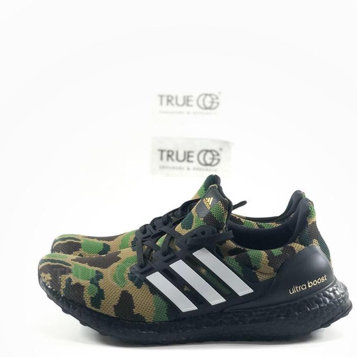 8d4d88ae153 Jual Adidas Ultraboost x BAPE Camo Green - True OG Kicks