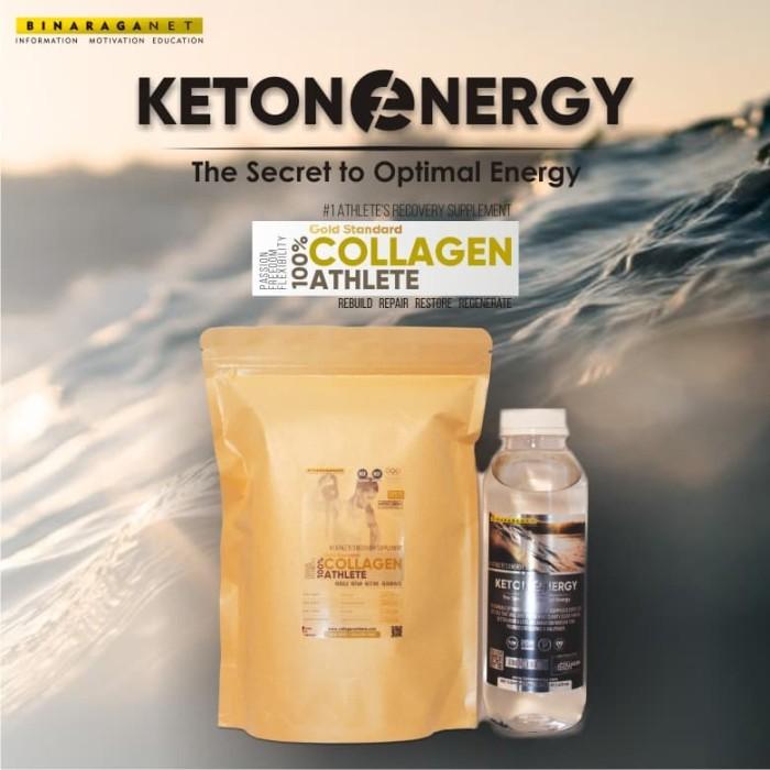 Foto Produk Paket Ketone Energy 16oz + Collagen Athlete 1.04Lbs dari BinaragaNet