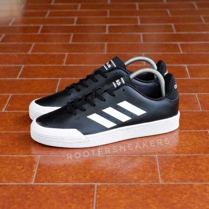 Jual Adidas Court 70s Black White