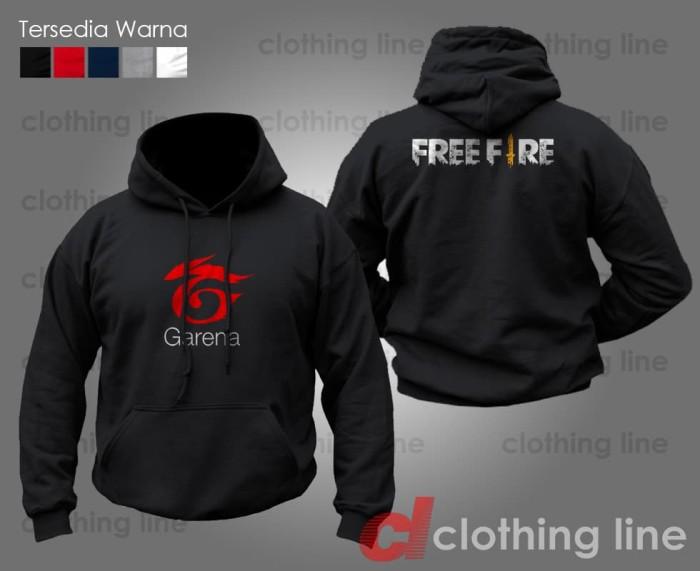 Jual Jaket Hoodie Game Garena Free Fire Kota Bandung Clothing Line Id Tokopedia